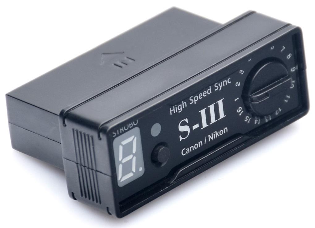 FOMEI HSS IV přijímač Nikon, Canon