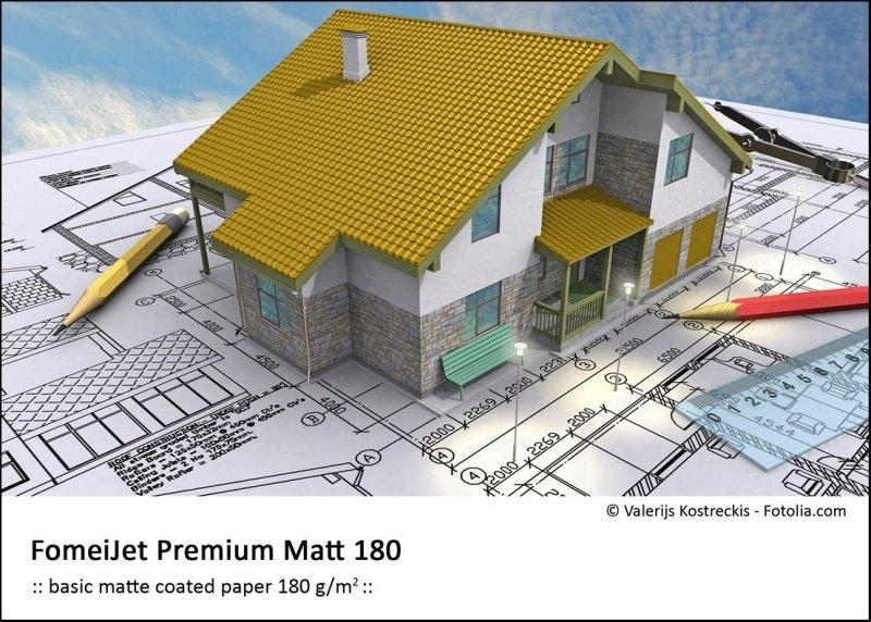 FOMEI Inkjet A3+/50 180g FomeiJet Premium Matt