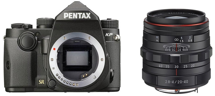 PENTAX KP + 20-40 mm černý