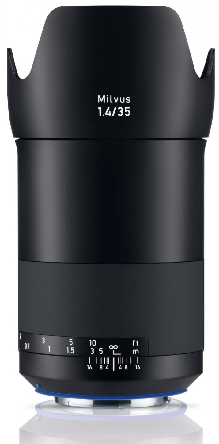 ZEISS Milvus 35 mm f/1,4 Distagon T* ZE pro Canon - z výstavky