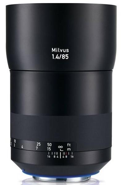 ZEISS Milvus 85 mm f/1,4 Planar T* ZE pro Canon - z výstavky