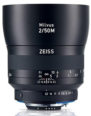 ZEISS Milvus 50 mm f/2 Makro-Planar T* ZE pro Canon - z výstavky