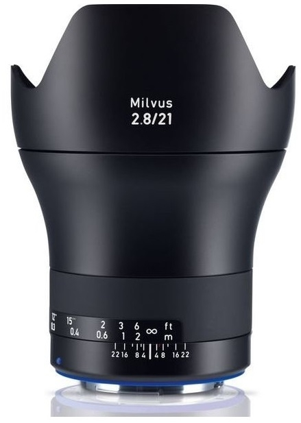 ZEISS Milvus 21 mm f/2,8 Distagon T* ZE pro Canon - z výstavky