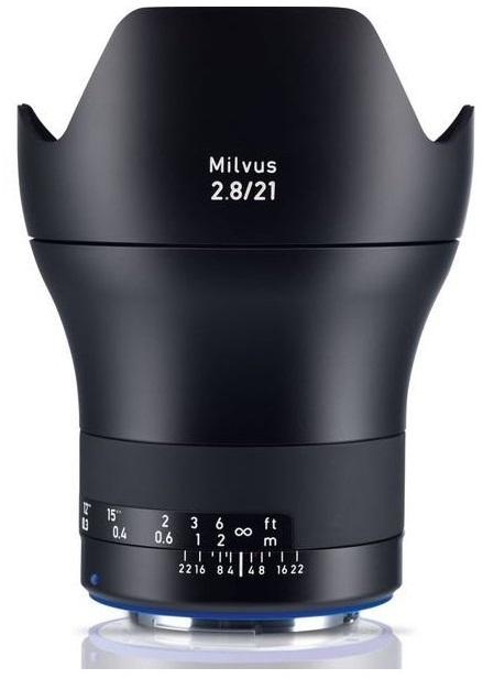 ZEISS Milvus 21 mm f/2,8 Distagon T* ZF.2 pro Nikon -  z výstavky