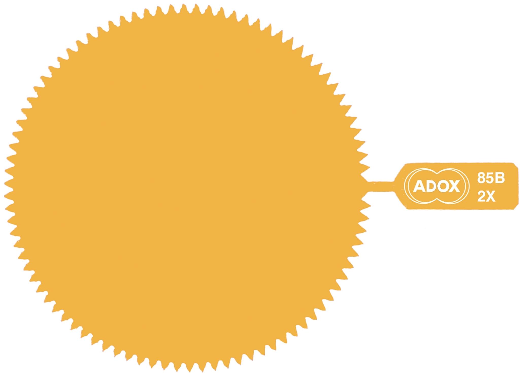 ADOX filtr želatinový 85B 72 mm