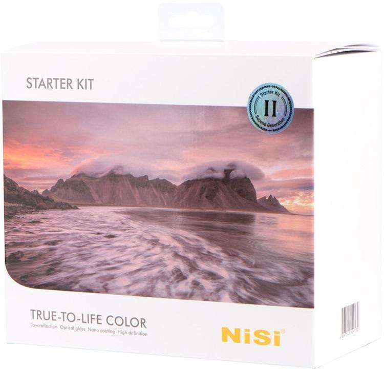 NISI sada filtrů Starter Kit II 100 mm systém V5 Pro