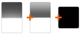ROLLEI advanced - set filtrů GND8 soft, GND8 rev., ND 1000 100x100 mm