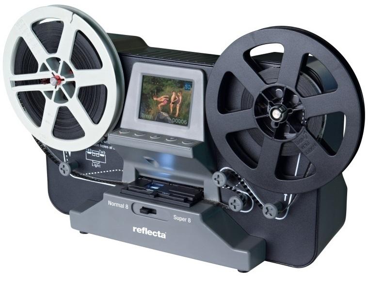 REFLECTA Super 8 - Normal 8 Scan - filmový skener