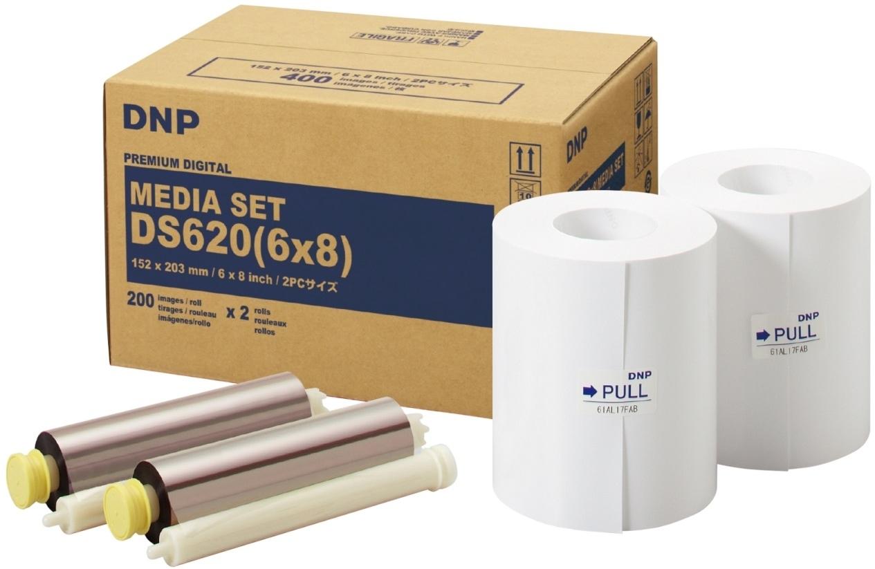 DNP Premium Digital 230 15x20 (10x15) cm, 400 (800) ks, DS620