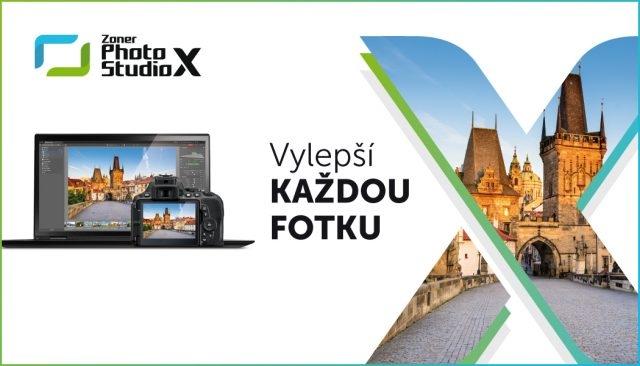 ZONER Photo Studio X  roční licence