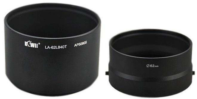 KIWI adaptér na filtr 62 mm LA-62L840T pro Nikon Coolpix L830/840
