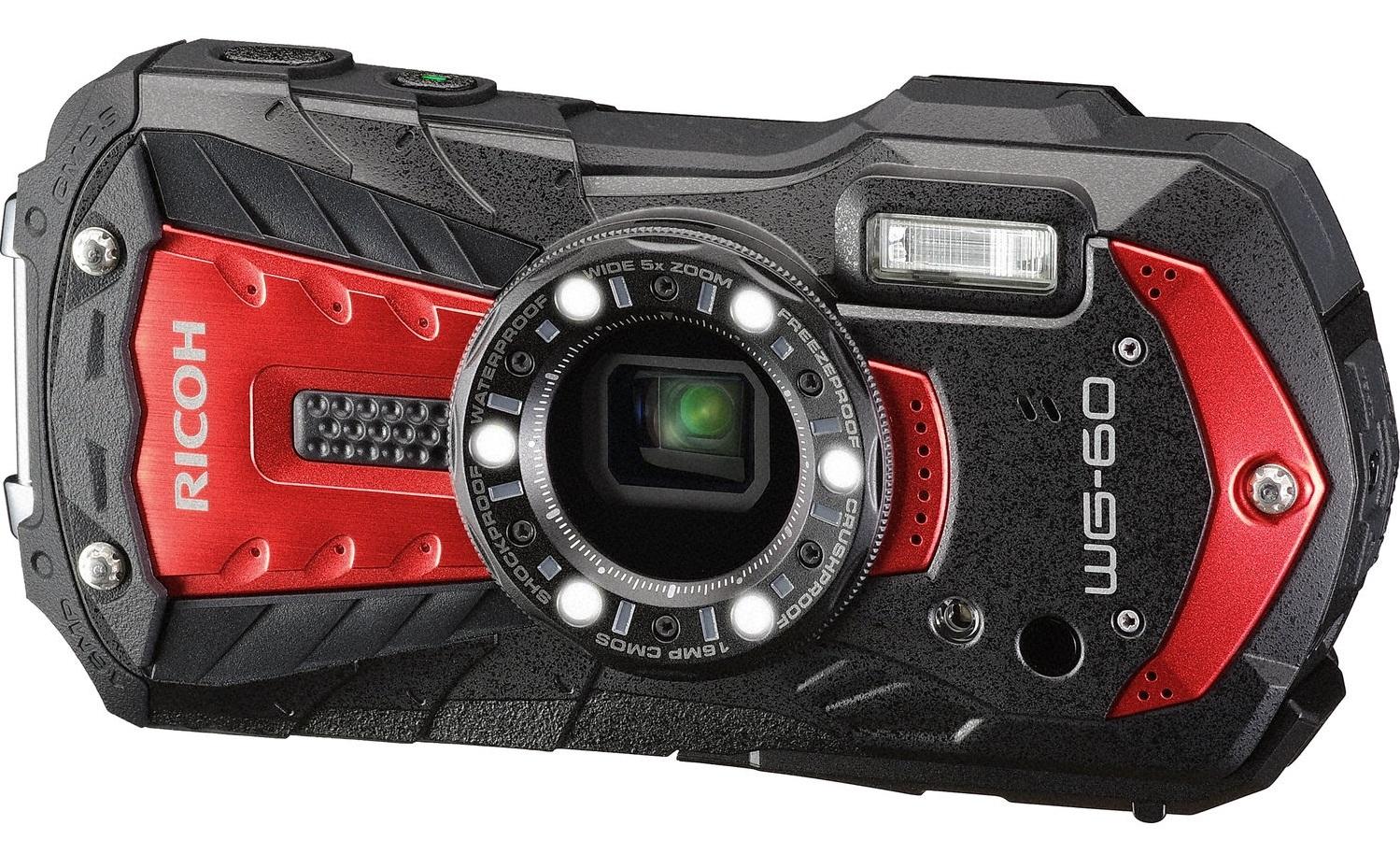 RICOH WG-60 červený Outdoor Kit