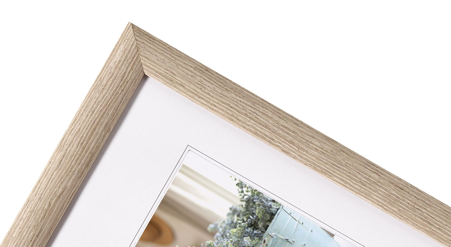 WALTHER  INTERIEUR  rám 10X15  dřevo, šedý