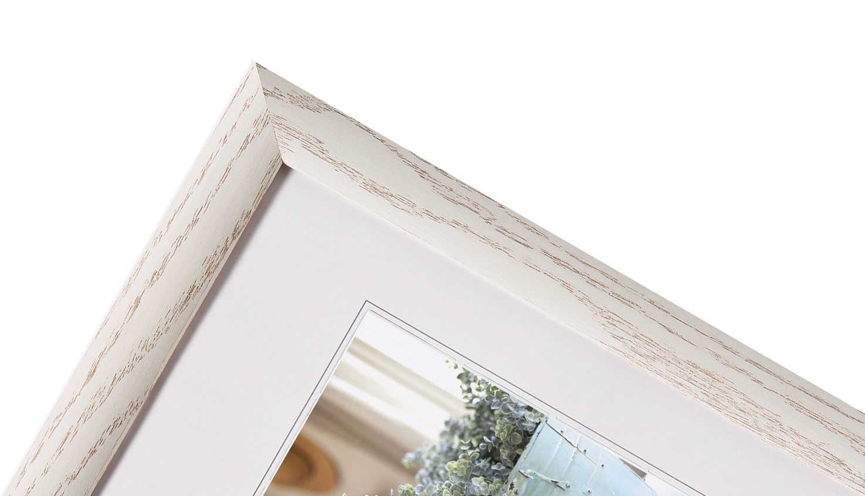 WALTHER  INTERIEUR  rám 13X18  dřevo, bílý