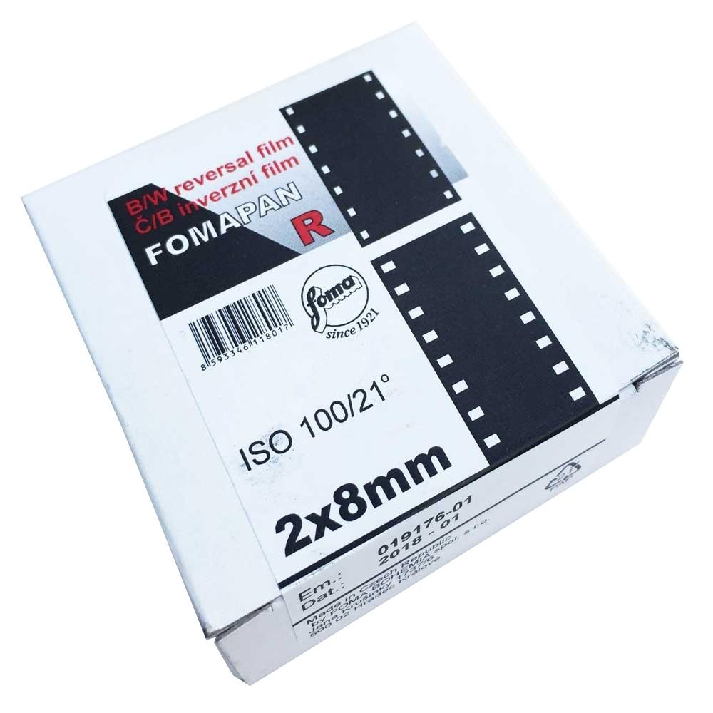 FOMAPAN R 100 2x 8 mm/30,5 m