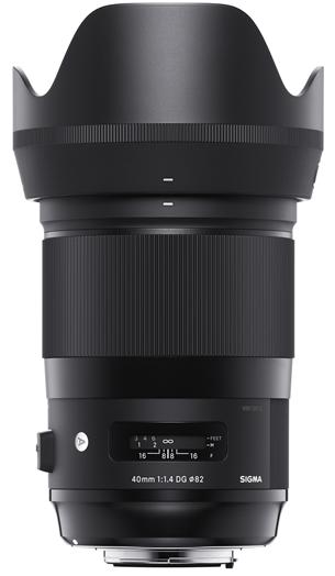 SIGMA 40 mm f/1,4 DG HSM Art pro Canon