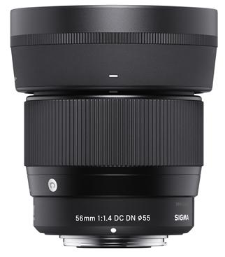 SIGMA 56 mm f/1,4 DC DN Contemporary pro Sony E (APS-C)