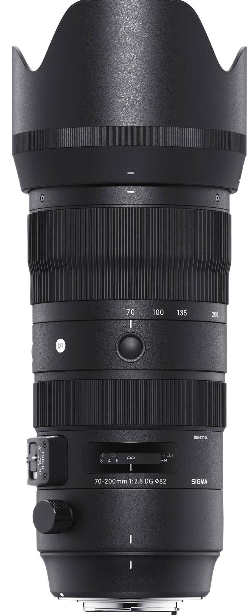 SIGMA 70-200 mm f/2,8 DG OS HSM Sports pro Canon