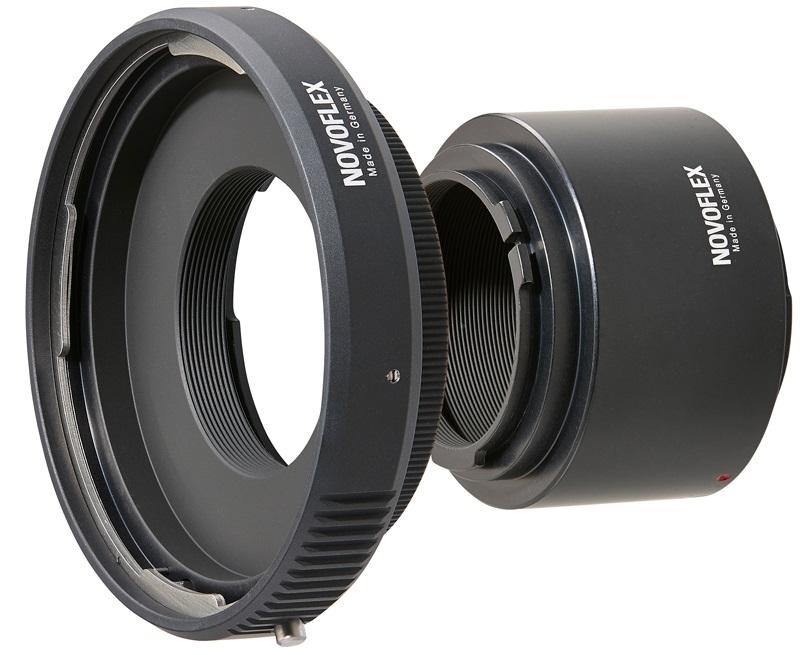 NOVOFLEX adaptér obj. Hasselblad V na tělo Nikon Z - NIKZ/A+HARING