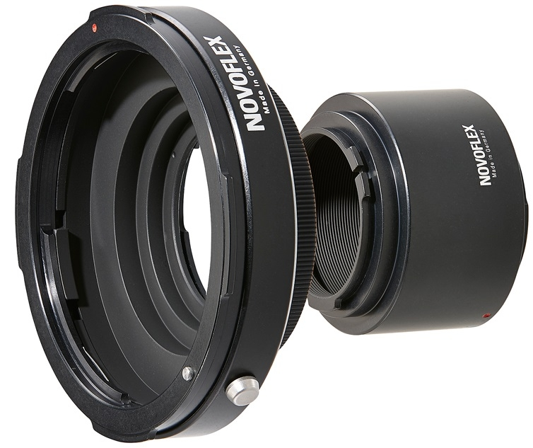 NOVOFLEX adaptér NIKZ/A+PENTRING 67 obj. Pentax 67 na tělo Nikon Z