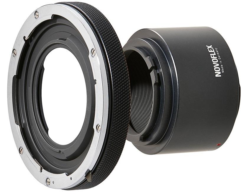 NOVOFLEX adaptér EOSR/A+MAMRING obj. Mamiya 645 na tělo Canon EOS R