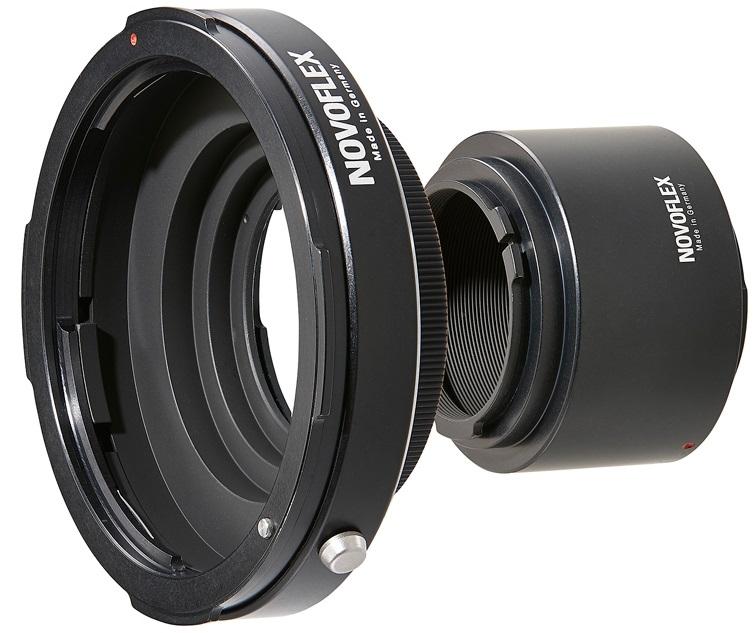 NOVOFLEX adaptér EOSR/A+PENTRING obj. Pentax 67 na tělo Canon EOS R