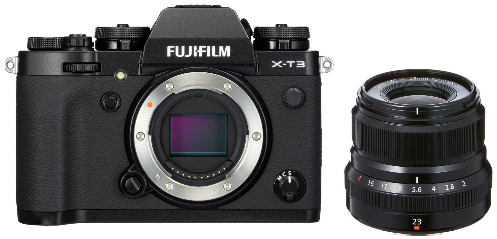 FUJIFILM X-T3 + XF 23 mm f/2 černý