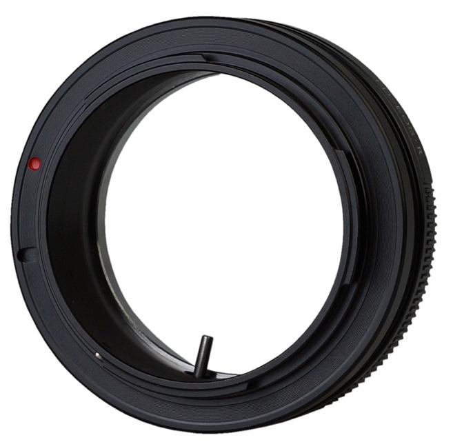 adaptér T2 na tělo Canon RF