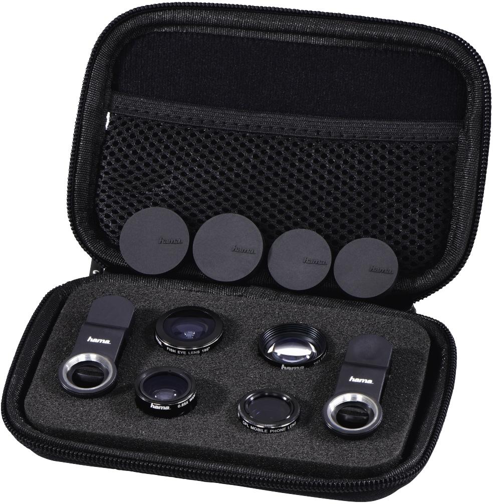 HAMA sada objektivů 5v1 pro mobilní telefony a tablety