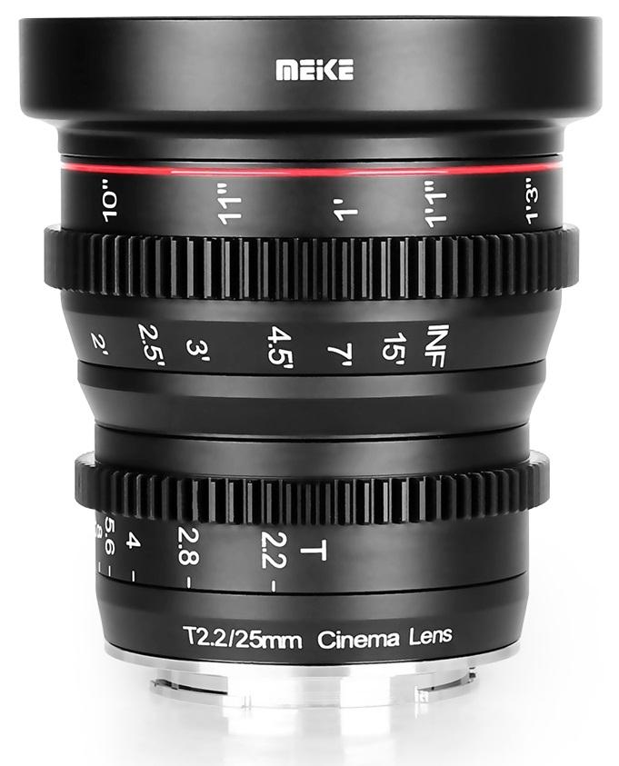 MEIKE 25 mm T2,2 MC pro Fujifilm X