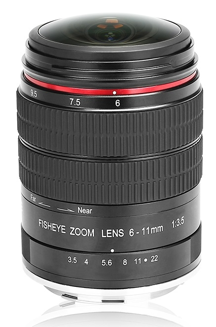MEIKE 6-11 mm f/3,5 MC Fisheye pro Olympus/Panasonic MFT