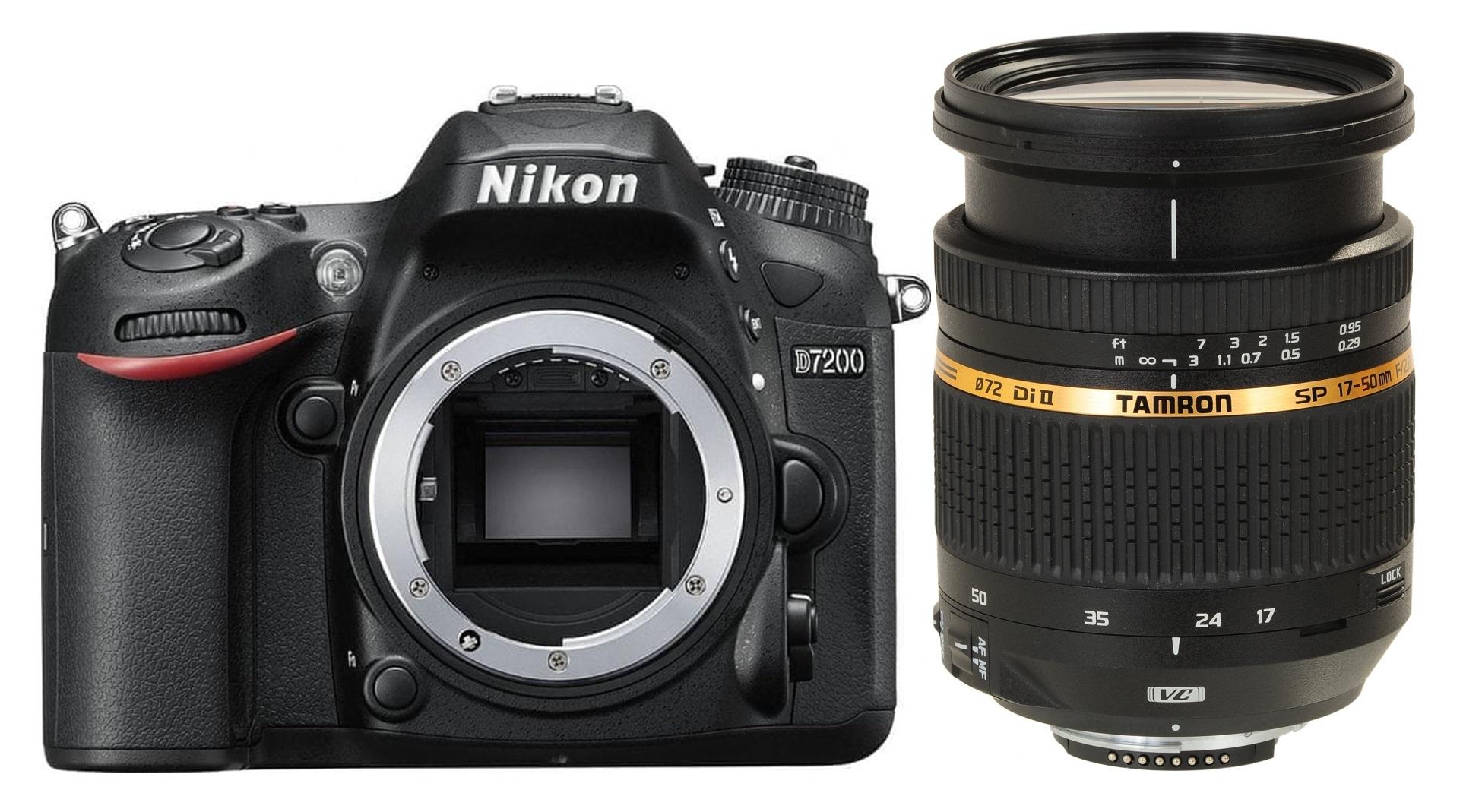 NIKON D7200 + TAMRON 17-50 mm VC