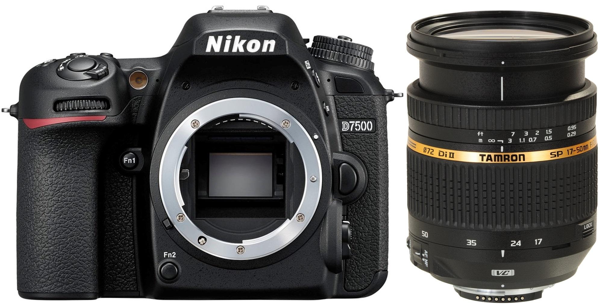 NIKON D7500 + TAMRON 17-50 mm VC