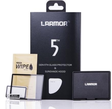 LARMOR ochranné sklo na LCD 5. generace pro Nikon D7100/D7200