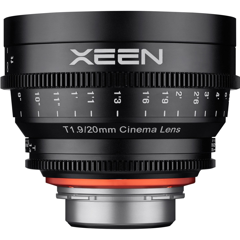 XEEN 20 mm T1,9 Cine pro Canon EOS