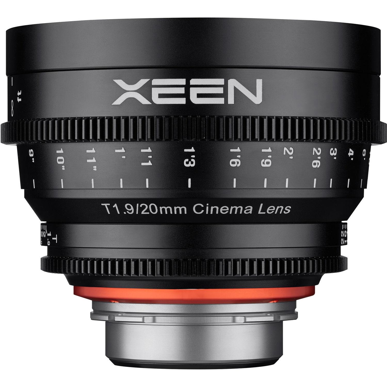 XEEN 20 mm T1,9 Cine pro Nikon F