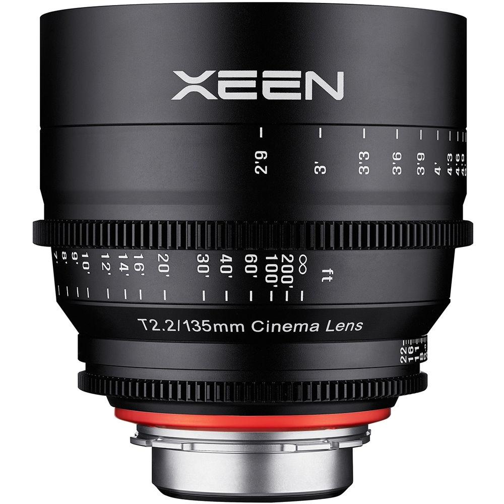 XEEN 135 mm T2,2 Cine pro Nikon F