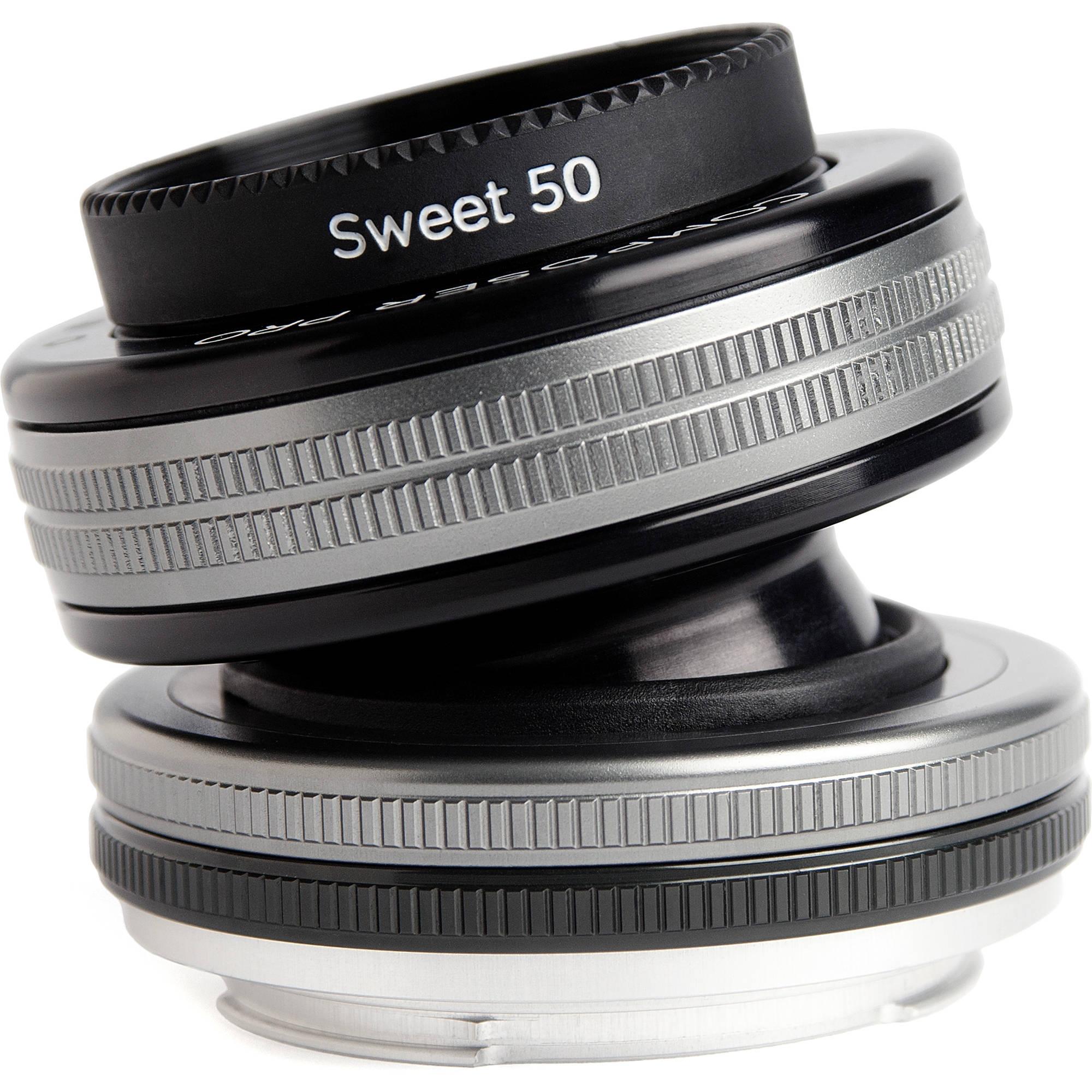 LENSBABY Composer Pro II Sweet 50 pro Fujifilm X
