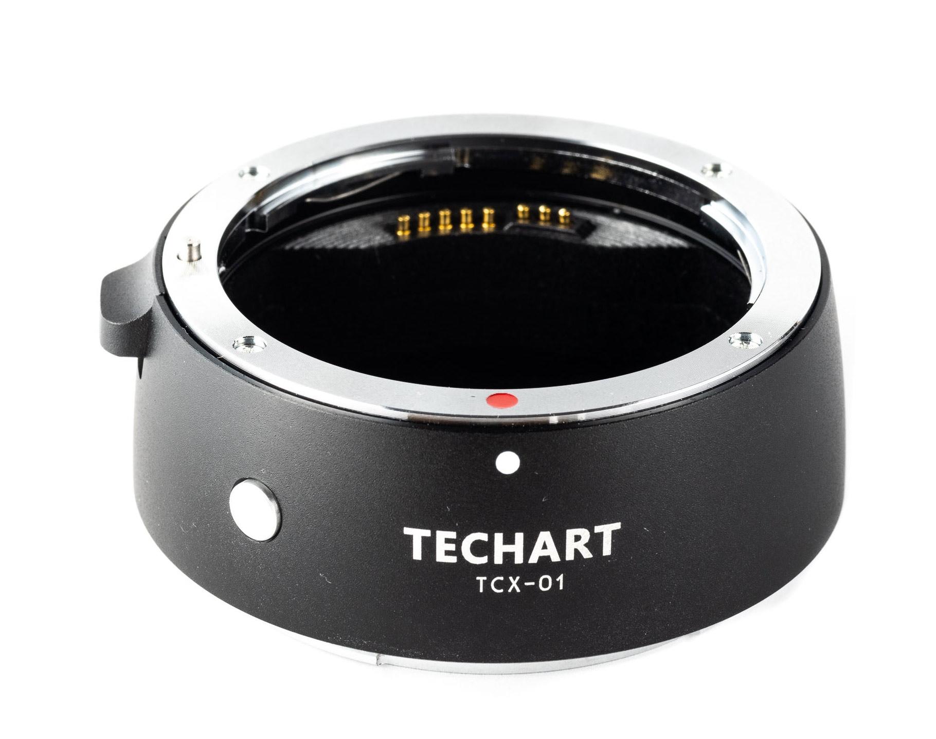 TECHART TCX-01 adaptér objektivu Canon EF na tělo Hasselblad X1D
