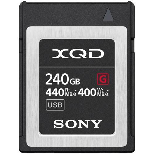 SONY XQD 240 GB G serie (QDG240F)