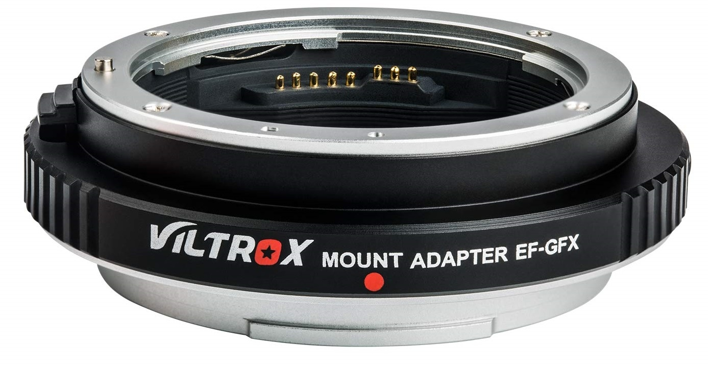 VILTROX EF-GFX adaptér objektivu Canon EF na tělo Fujifilm GFX