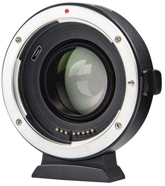 VILTROX EF-FX2 adaptér objektivu Canon EF na tělo Fujifilm X Speed Booster 0,71x
