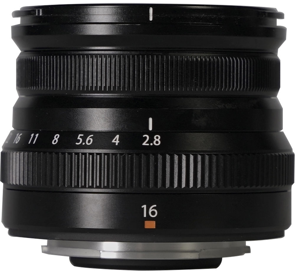 FUJIFILM XF 16 mm f/2,8 R WR černý