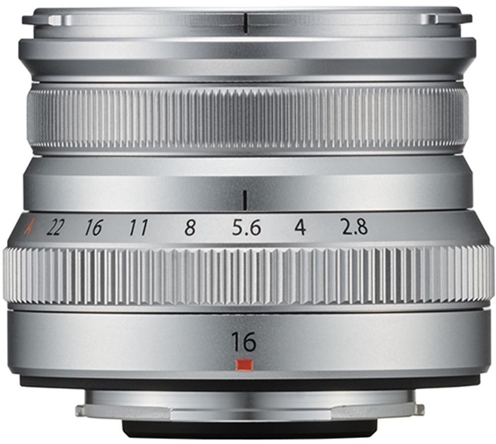 FUJIFILM XF 16 mm f/2,8 R WR stříbrný