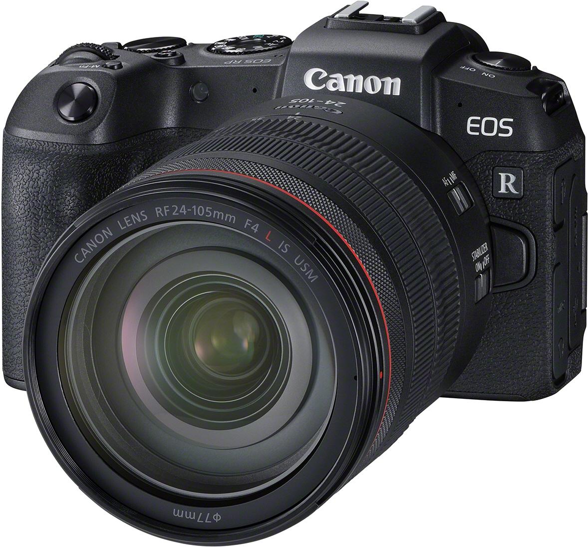 CANON EOS RP + RF 24-105 L + adaptér EF-EOS R