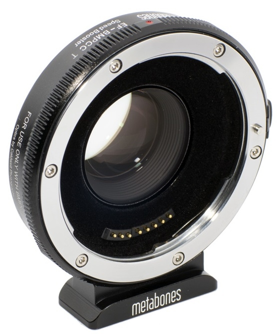 METABONES adaptér objektivu Canon EF na BMPCC MFT T Speed Booster 0,58x