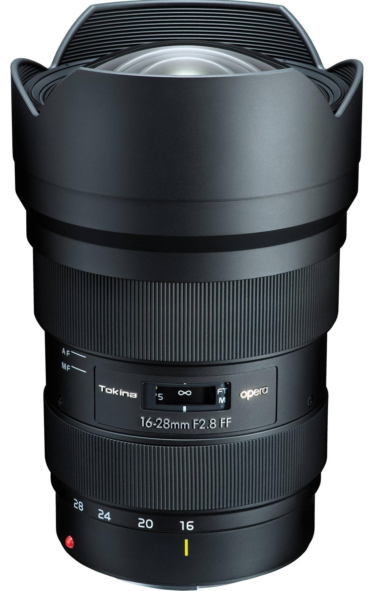 TOKINA 16-28 mm f/2,8 FF Opera pro Canon EF
