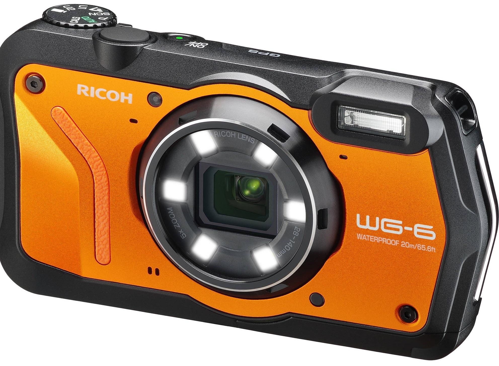 RICOH WG-6 oranžový