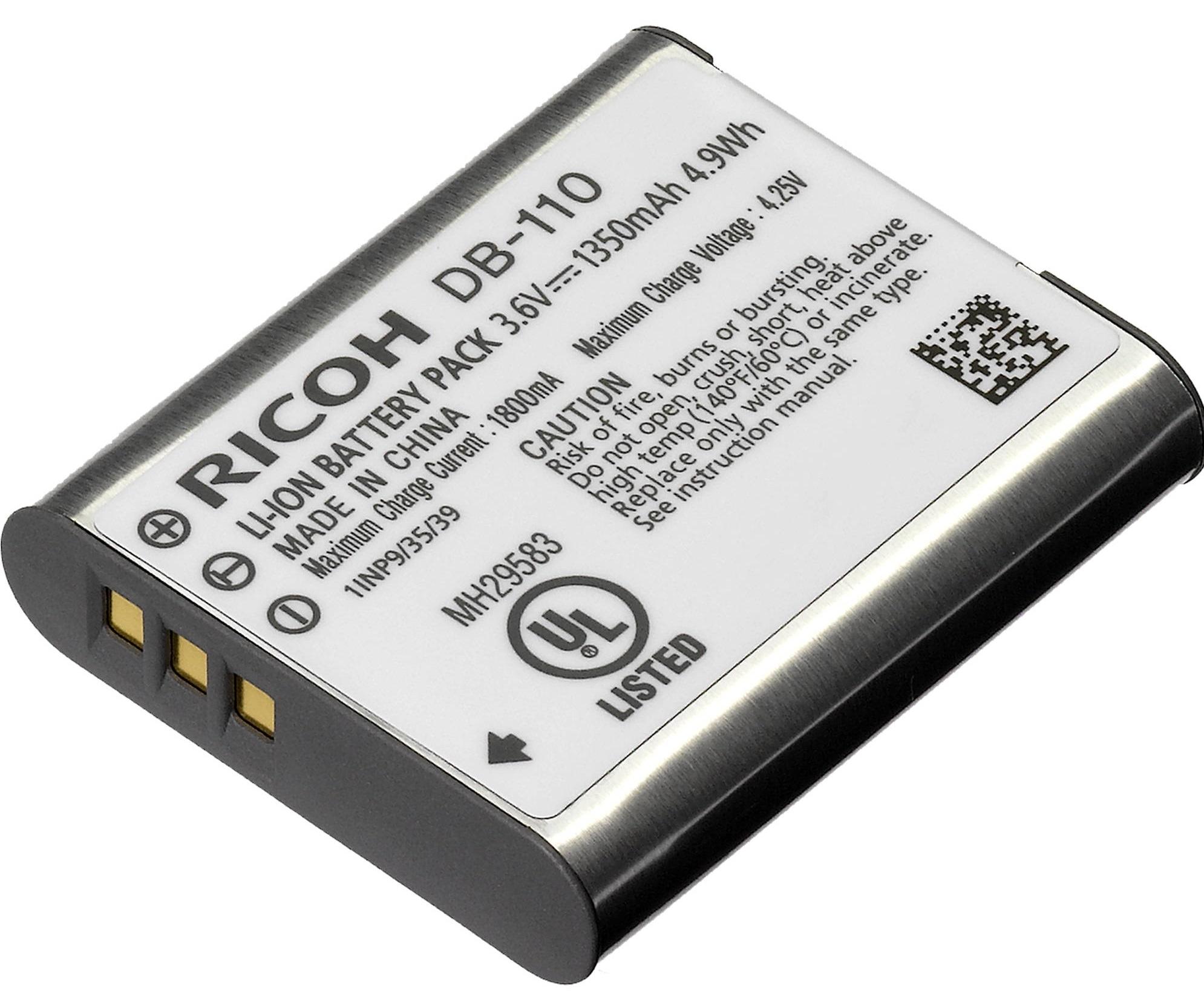 RICOH akumulátor DB-110 pro GR III