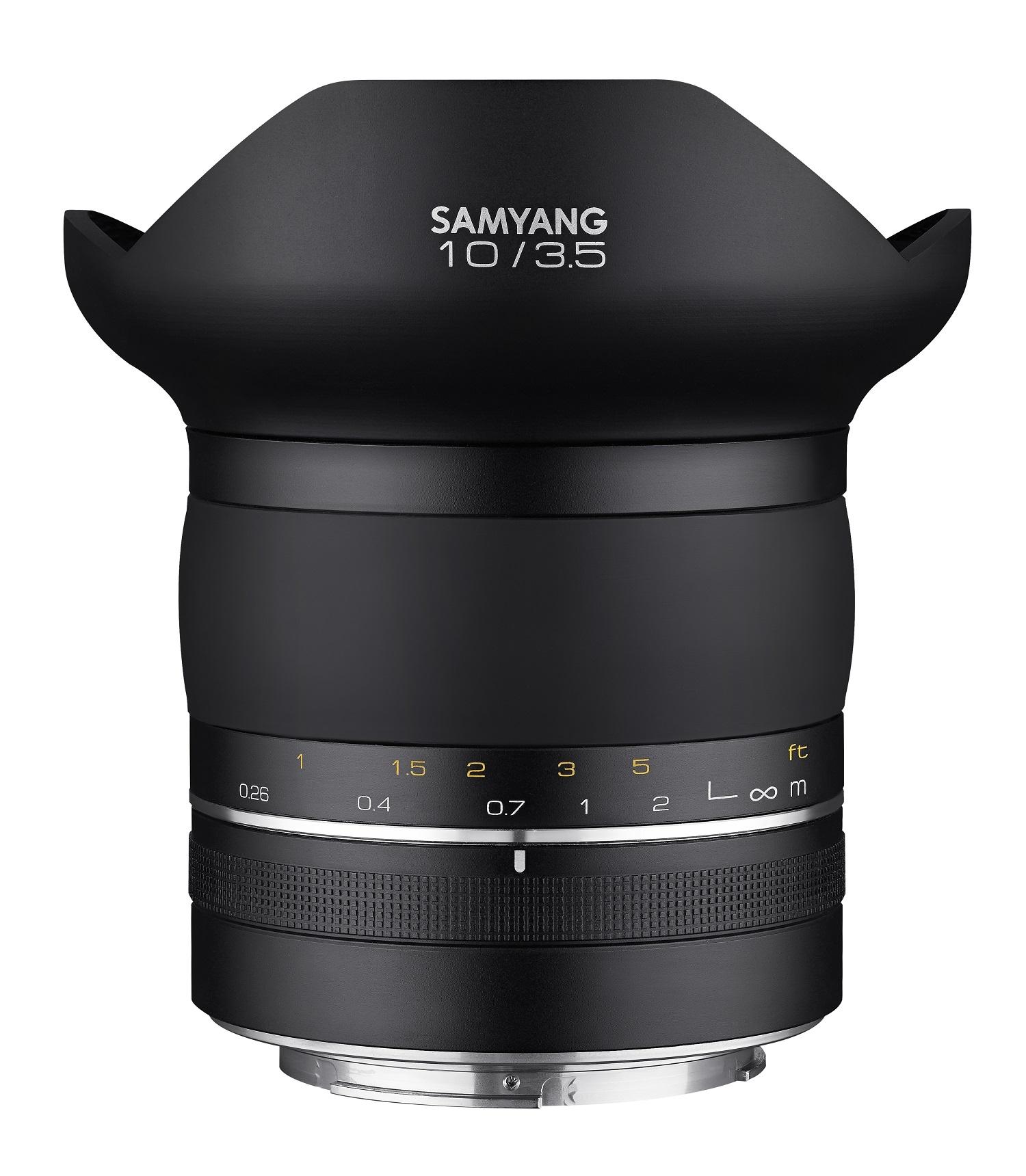SAMYANG 10 mm f/3,5 XP UMC pro Canon EOS